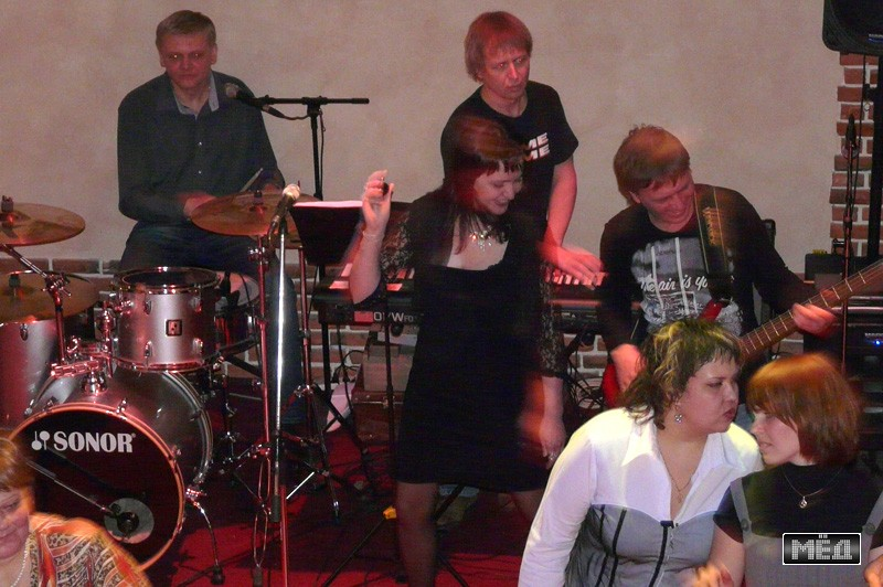 Кафе «Волга» - танцевальный вечер